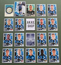 Inter Milan INT 1 - INT 18 Champions League 2020/ 2021 20/ 21 Topps Auswahl