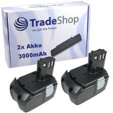 2x Akku Li-Ion 3000mAh 18V ersetzt Hitachi BCL1815 EBM1830 EB1830 EB1815 326240