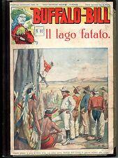 BUFFALO BILL 10 FASCICOLI DAL 81 A 90 NERBINI  ANNI 30