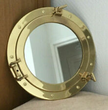 "11.5"" Maritime Brass Porthole Round Window Glass Antique Porthole"