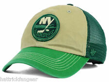 47 BRAND NHL MCNALLY ST. PATRICKS ADJUSTABLE HOCKEY HAT/CAP - NEW YORK ISLANDERS