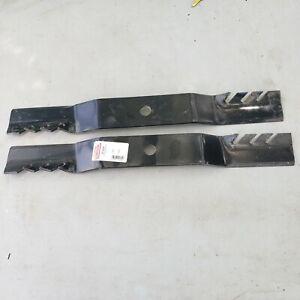 "42"" Oregon #91-604 Lawn Mower Blade Set (2) John Deere #M139972 13/16"" CH Gator"