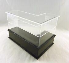 T5423 Dollhouse Miniature Fancy Edge Mirrored White Display Case
