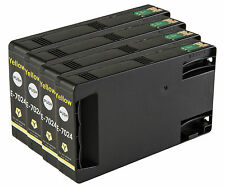 4 Yellow T7024 non-OEM Ink Cartridge For Epson Pro WP-4545DTWF WP-4595DNF