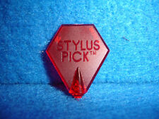 Stylus Guitar Pick (Designed to improve Picking technique and Speed Picking) Red