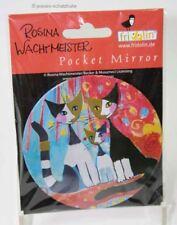 Taschenspiegel Make up Spiegel Wachtmeister Katze together