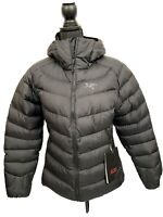 Arcteryx Women's Thorium SV Hoody Jacket Goose Down 750 Medium Black NEW $398