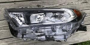 2019 2020 Toyota RAV4 left (driver) headlight OEM used Chrome Inside Bezel Nice!