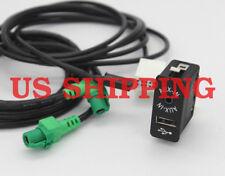 USB AUX Auxiliary Input Socket CABLE FOR BMW E81 E87 E90 F10 F12 E70 84109237653