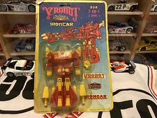 YROBOT-IRONCAR *306 2-IN-1 Transforormer From Taiwan Free Shipping