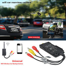 Wireless WiFi Car Truck Backup Camera Video Rearview Transmitters iPhone Android
