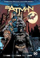 DC BATMAN REBIRTH DELUXE EDITION HARDCOVER GRAPHIC NOVEL JOKER HARLEY QUINN KING