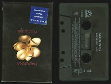 Madonna You'll See USA Cassette Single Tape