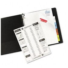 "Avery Worksaver Extra Wide Big Tab Divider - Blank - 9"" X 11"" - 8 / (ave11222)"