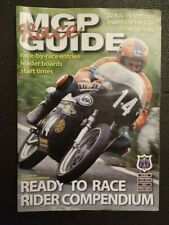 MOTORCYCLE RACING ISLE OF MAN MANX TT TOURIST TROPHY OFFICIAL RACE GUIDE 2009