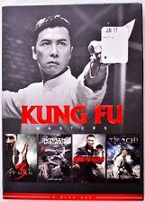 KUNG FU MASTERS DVD 4-Disc Set (Ip Man 3/Wrath of Vajro/Tai Chi Zero...) >NEW<