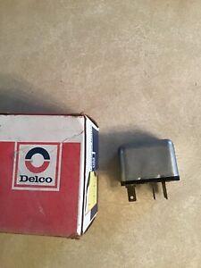 NOS 1976-84 Cadillac Blower Motor Temperature Control Relay GM Delco  #1621806