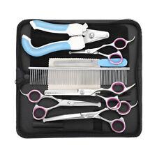 Pet Grooming Scissors Nail Clipper Kit Dog Set Professional Pet Hair Cutting
