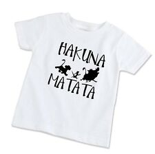 Youth Kids T-Shirt Tee Hakuna Matata Lion King Simba Silhouette