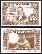 ESPAÑA  100 PESETAS 1953 R. DE TORRES Pick 145    MBC   VF