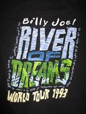 "1993 BILLY JOEL ""River of Dreams"" Concert Tour (XL) Shirt THE PIANO MAN"