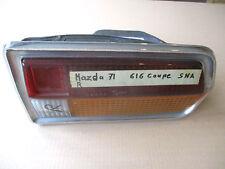 MAZDA 616 626 Coupé La Luz de fondo de la luz de fondo CRISTAL CARCASA DERECHO
