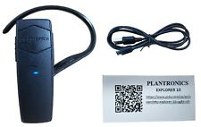 Plantronics Explorer 10 Bluetooth 3.0 Black Earhook Mobile Universal Headset New