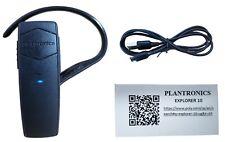 Plantronics Explorer 10 Bluetooth 3.0 Black Earhook Mobile Universal Headset New