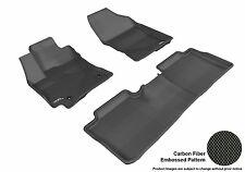 3D Anti-Skid 1 Set Fits Corolla 2014-2016 GTCA55677 Black Waterproof Auto Parts
