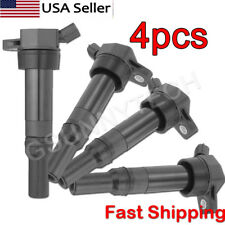 4pcs Ignition Coil Black For Hyundai Elantra Tucson Kia Soul Forte 273002E000