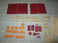 Approximately x 53 Lott's Bricks-Spares -Unboxed
