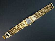 Solid Gold Case Luxury Wristwatches with 12-Hour Dial