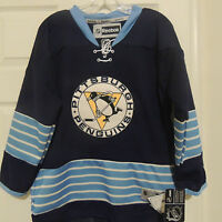 NHL REEBOK Premier Pittsburgh Penguins Hockey Jersey NEW Youth L/XL MSRP $80