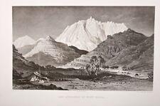 terre sainte - les approches du mont serbal 19°eme