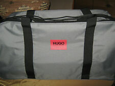 """HUGO BOSS Parfums Mens Travel Bag  """"NEW"""" Large (22"""" x 11""""s) w/ SHOULDER STRAP"""