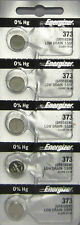 5Pcs Energizer 373 (SR916SW) Silver Oxide Watch Batteries
