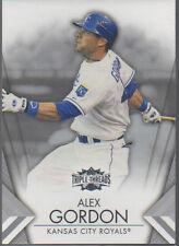 ALEX GORDON 2012 TOPPS TRIPLE THREADS CARD #24 ROYALS