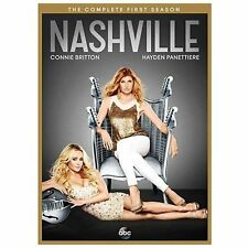 Nashville: The Complete First Season DVD, 2013, 5-Disc Set) NEW SEALED Free Ship