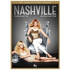 Nashville: The Complete First Season, Mint,(DVD, 2013, 5-Disc Set)