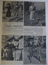 Article Mode,Dior,Griffe,Carven,Fath, ,photos ,1951,clipping