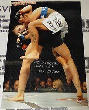 Liz Carmouche Signed 20x30 Photo PSA/DNA UFC 157 Ronda Rousey Picture Autograph