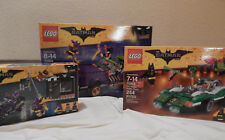 ** LEGO Batman Movie  3 Set Lot ** 70902 70903 70906 Riddler Joker Catwoman New