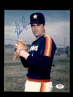 Nolan Ryan PSA DNA Coa Hand Signed 8x10 Photo Astros Autograph