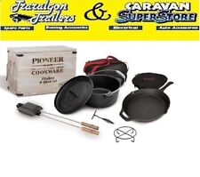 Campfire Cast Iron Boxed Set Camping Cookware 9 Piece