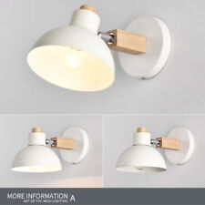 NEW LED Wall Lights Sconce Bedside/Aisle Lights Wooden Wall Lamp Decor L014HC