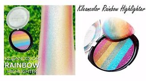 Rainbow Highlighter Illuminator - Kleancolor Rainbow Shimmery Powder, NEW!