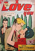 I Love You #39 Charlton Comic 1962 Silver Age VG- Teen Romance