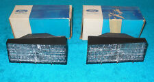 1973 Gran Torino Sport Brougham Ranchero NOS LH + RH FRONT GRILLE PARKING LAMPS