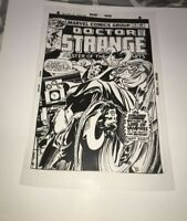 Doctor Strange Dracula Supernatural Terror Horror Cover Production Art Acetate