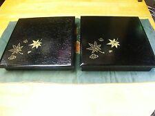 JAPAN KAISEKI CUISINE 2 pieces SYOUKADOU Wood LUNCH BOX